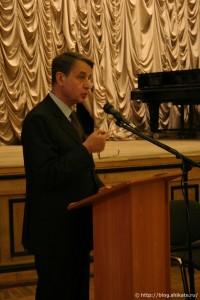 А.А.Авдеев, министр культуры России