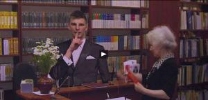Аршавин в библиотеке