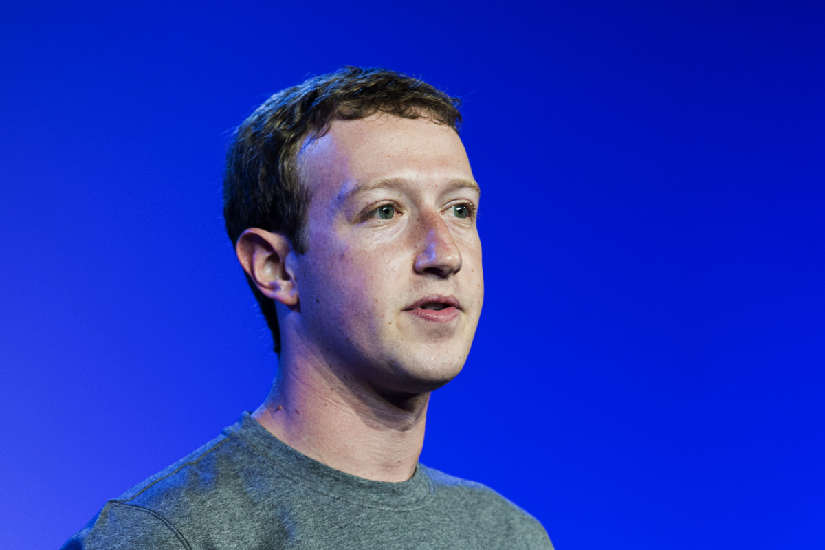 Mark Zuckerberg CEO of Facebook speaks during the Internet.org summit in New Delhi on Oct. 9, 2014. Udit Kulshrestha—Bloomberg/Getty Images