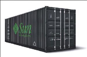 Все компоненты модульного дата-центра размещены в обычном грузовом контейнере.