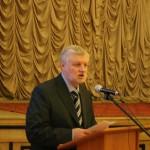 С.М.Миронов выступает на открытии Румянцевских чтений